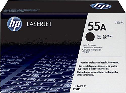 HP 55A CE255A Cartuccia Toner Originale, Compatibile con Stampanti LaserJet Enterprise P3010, P3015, P3015d, P3015dn, P3015x, M525, M525dn, M525f, M525c, M521dn e M521dw, Nero