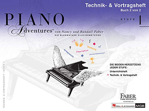 Piano Adventures: Technik- & Vortragsheft 1