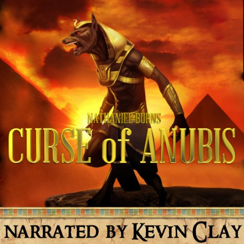 The Curse of Anubis audiobook cover art