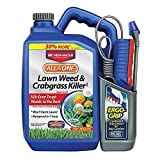 BioAdvanced All-in- One Lawn Weed and Crabgrass Killer, 1.3-Gallon, Ready-to-Use