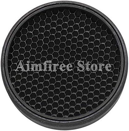Aimfiree Rifle Killflash Anti Reflection Sunshade Protective Kill Flash Cover Cap for M2 Red product image