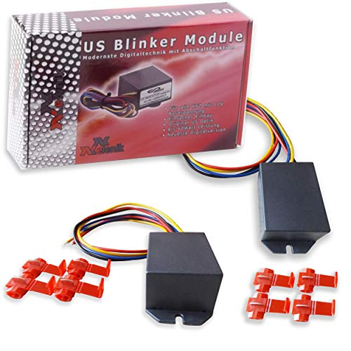 US Standlicht Blinker Module - komplett Set US Blinker (einstellbar)