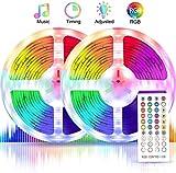 Tiras LED 10M 5050 RGB, AXUAN Tiras de Luces LED Iluminación con 300 Leds Strip Tiras LED de Luces para Hogar, Oficina,...