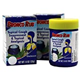 Broncolin Broncolin Cough Supressant Rub, 2-Pack of 1.4 Ounce Jar, 2 Count