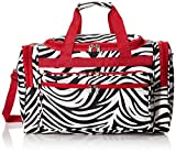 World Traveler, Red Trim Zebra, One Size