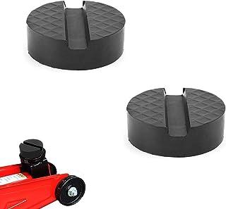 Caoutchouc Cric HTBAKOI Bloc Tampon sup/érieur en Caoutchouc pour Cric Voiture de Levage aux dimensions 65 x 34 mm