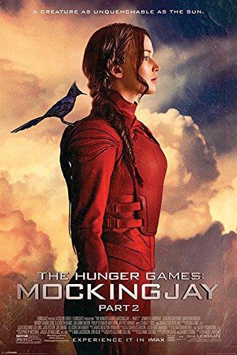 Empire Poster The Hunger Games Mocking Jay Part 2 Bird + accessoires de fixation Ü-Poster der Grösse 61x91,5 cm