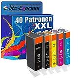 Tito-Express Platinum Serie 40 Cartuchos XXL compatibles con Canon PGI-550XL...