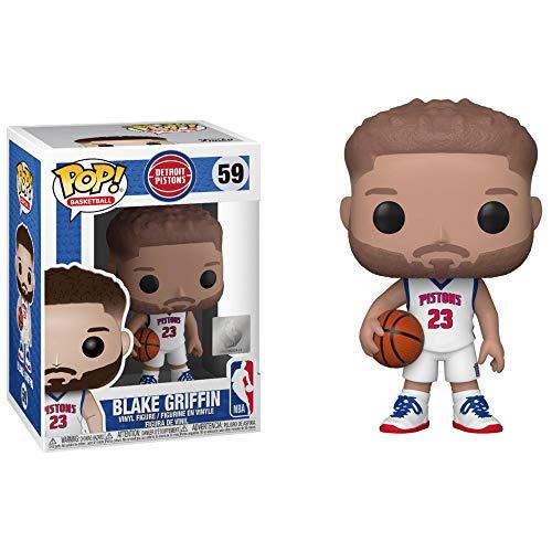 Funko- Pop NBA: Detroit Pistons-Blake Griffin Figura da Collezione, Multicolore, 44276