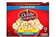 Orville Redenbacher's Butter Popcorn, 3.29 Ounce Classic Bag, 12-Count