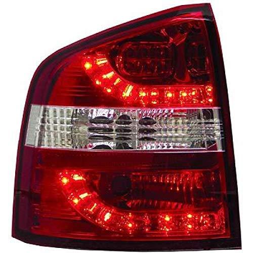 in. pro. 7831995 haute définition à LED Feux arrière, Rouge/Blanc/Transparent