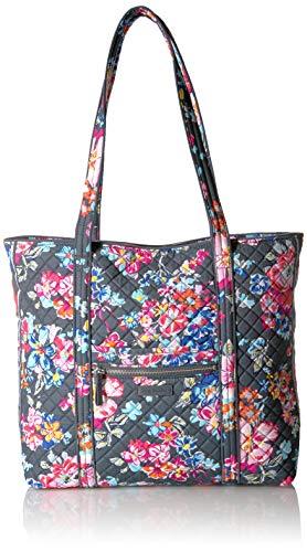 Vera Bradley Signature Cotton Vera Tote Bag, Pretty Posies