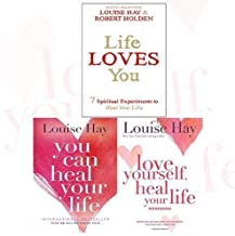Louise Hay Collection Heal Your Life 3 Books Bundle (Life Loves You: 7 Spiritual Practices to Heal Your Life, You Can Heal Your Life, Love Yourself, Heal Your Life Workbook)