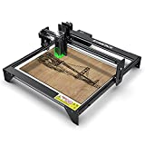 ATOMSTACK Laser Engraver, A5 20W Laser Engraving Cutting Machine CNC, Upgraded Precise Fixed-Focus Machine with Eye-Protection Design, 410X400mm, DIY Laser Marking for Metal, Wood, Leather, Vinyl