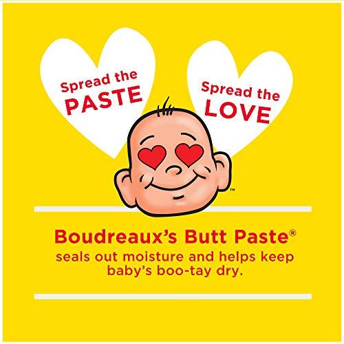 Boudreaux's Butt Paste Diaper Rash Ointment   Original   16 oz. Jar   Paraben & Preservative Free