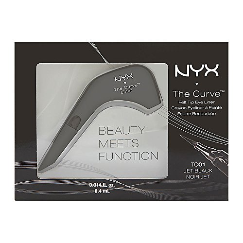 NYX The Curve Liquid Liner Black, 1er Pack