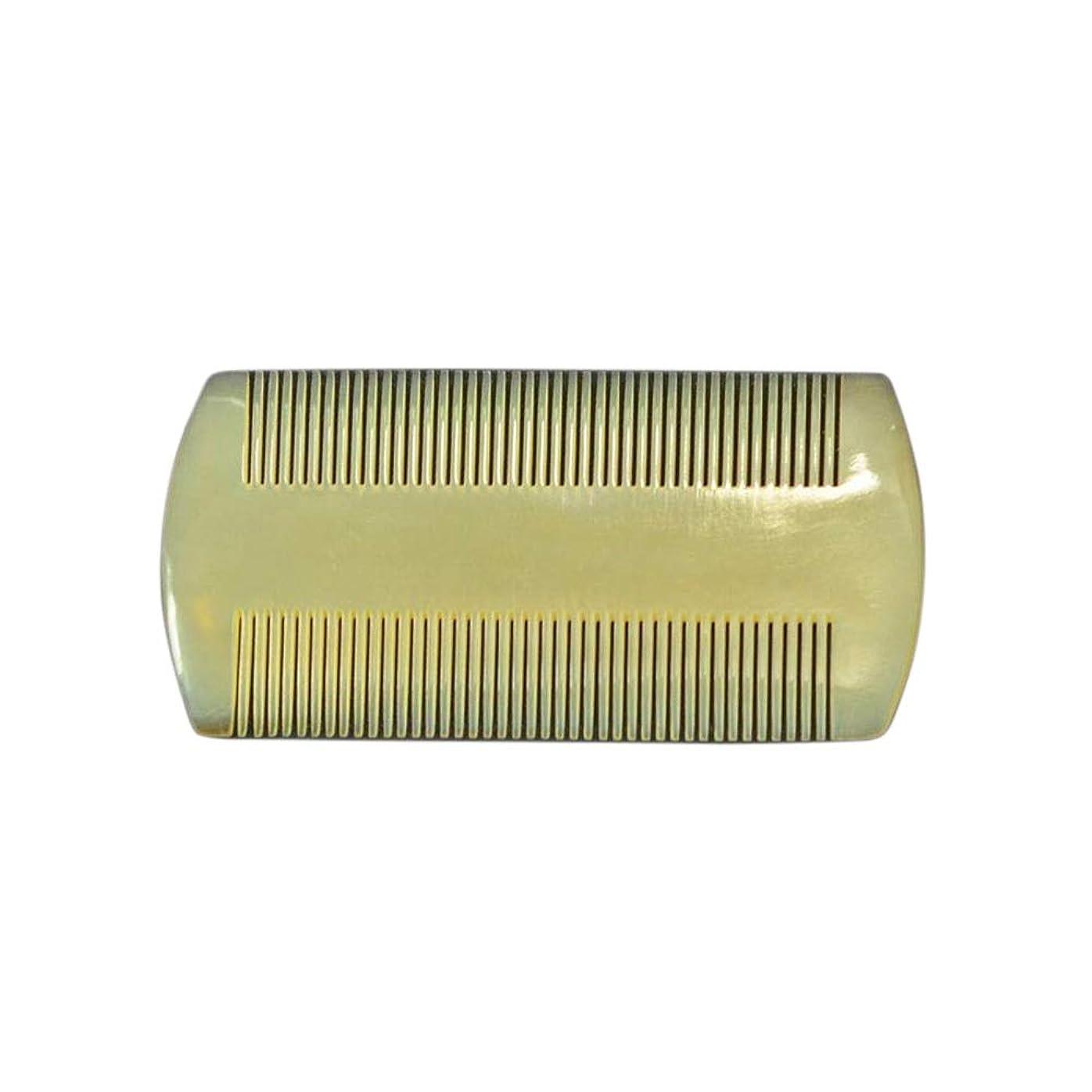 シャトル独裁バンクFashian天然羊コーナーくし - ファイン歯の複列の櫛帯電防止マッサージくし ヘアケア