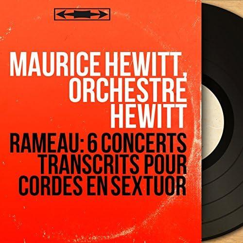Maurice Hewitt, Orchestre Hewitt