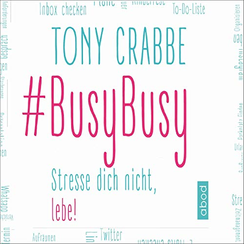 BusyBusy audiobook cover art