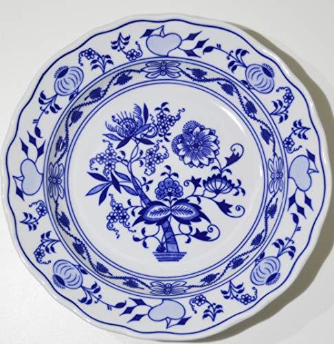 Cesky Porcelan Zwiebelmuster Teller flach 6 Stück 24 cm Bohemia Dubi Tschechische Republik