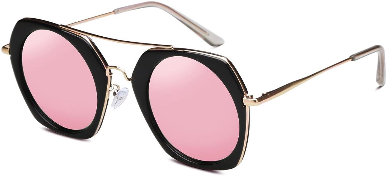 HONGYANDAI Sunglasses Women Polarized Glasses 100% Uv Predection Driving Lens (Pink)