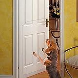 IN HAND Protector de arañazos para Puerta de Mascotas, Resistente, Flexible, Protege Tus Puertas y Paredes, Protector de arañazos para Puerta Grande y Transparente