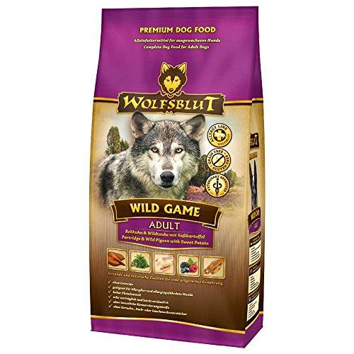 Wolfsblut | Wild Game Puppy | 2 kg | Rebhuhn und Wildtaube | Trockenfutter | Hundefutter | Getreidefrei