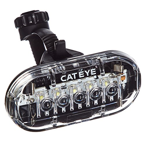 CATEYE, Omni 5 LED Safety Bike Light with Mount, Front