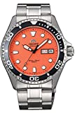 Orient FAA02006M Men's Orange Mako II Stainless Steel 200M Automatic Dive Watch