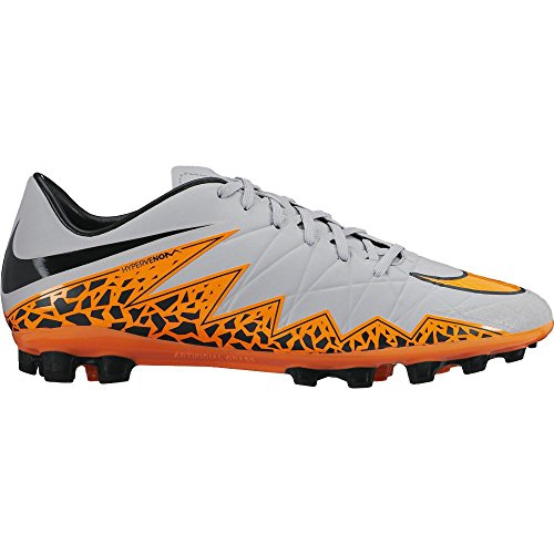 Nike Hypervenom Phelon II AG-R Grau Orange -749895-080-, Schuhgröße:EUR 44;Farbe:WOLF GREY/TOTAL ORANGE-BLK-BLK