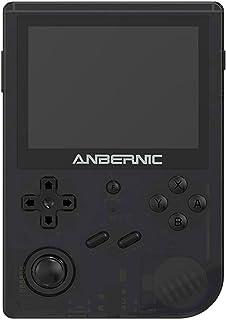 LRWEY RG351V Console de Jeu Portable avec Fonction WiFi, Console de Jeu Rétro Système Open Source Puce RK3326, 3900mAh Con...