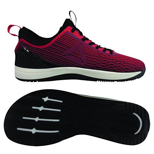 Reebok R Crossfit Nano 8.0 Zapatillas de Deporte, Hombre, Rojo (Primal Red/Urban Maroon/Chalk/Black 000), 38.5 EU