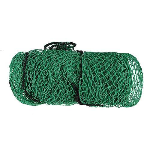 Golf Übungsnetz grün Golfnetz 3 m 3 m Golfnetz Mesh 0,98 Zoll quadratisches Netz Gepflegte retiforme Struktur mit Einer Engen Spiralstruktur Baseball, Softball, Hockey