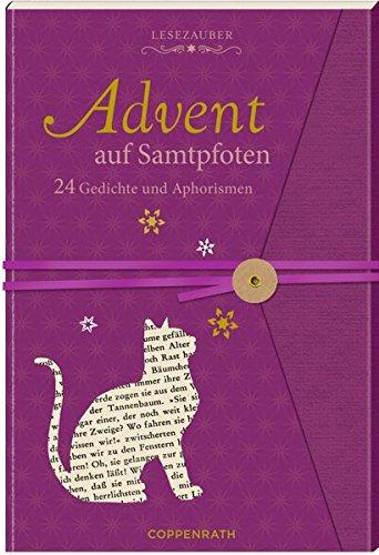 Briefbuch – Advent auf Samtpfoten: 24 Gedichte und Aphorismen