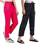 7Evenwear Women Pyjama's Cotton, Night Dress, Lounge/Sleep Wear, Multi Color and Design Pyjama –Soft Cotton Night Wear Pyjama