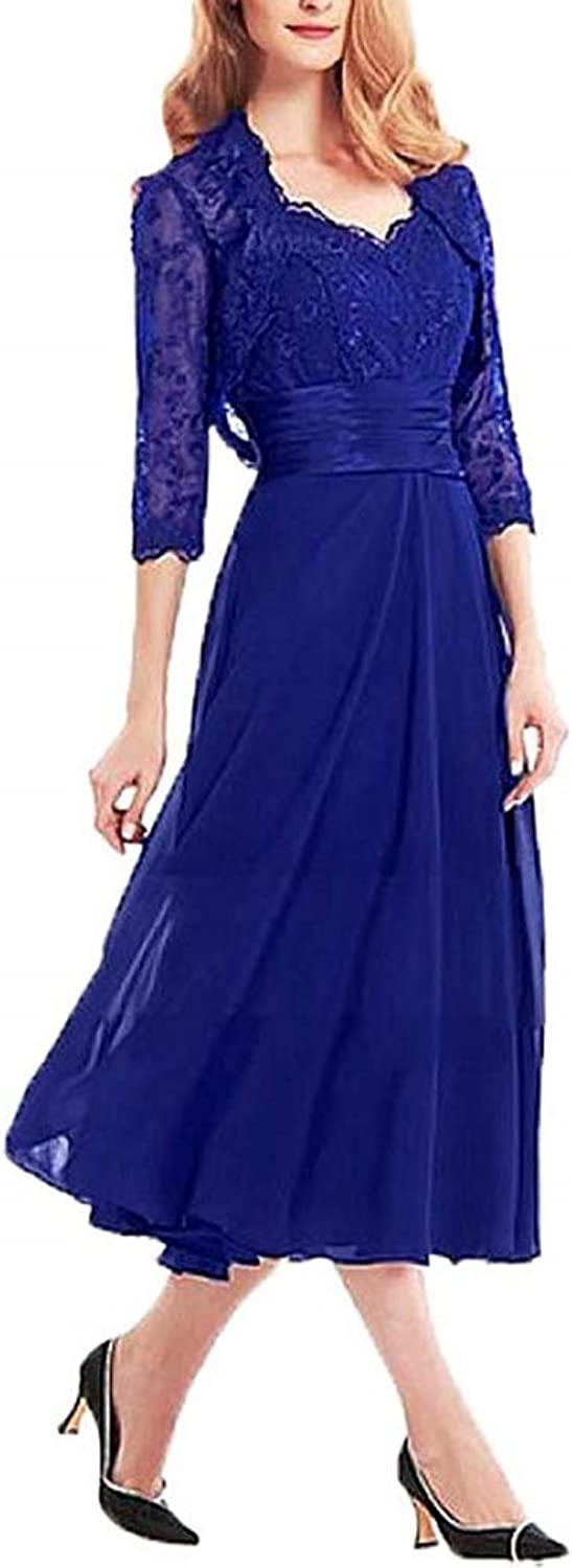 Adonis Pigou Women's TLength Mother of The Bride Bridegroom Dress Gown with Jacket