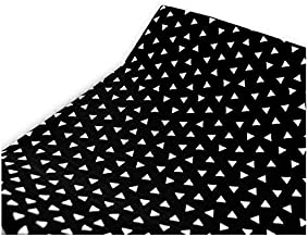 product image for Olli & Lime Triangle Changing Pad Cover in Black