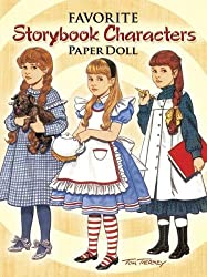 storybook character paperdolls