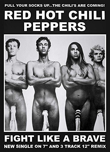 Close Up Red Hot Chili Peppers Poster (59,5cm x 84cm)