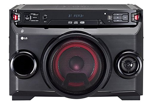 LG Sistema Mini Hi-Fi om4560Reproductor integrado MP3Bluetooth/inalámbrico negro
