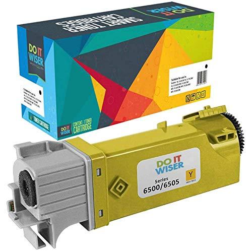 Do it Wiser kompatibel Toner für Xerox Phaser 6500 6500N 6500DN WorkCentre 6505 6505N 6505DN (Gelb)