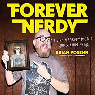 Forever Nerdy audiobook cover art