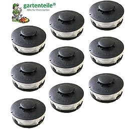 Lot de 9 bobines de rechange pour coupe-bordure électrique ALDI Gardenline GLR 450 451 452 453 454 455 456 457 458 459…