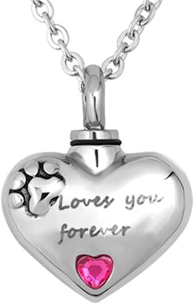 Max 71% OFF JewelryHouse Urn Necklace Mom Dad Ashes Grandma Holder Memorial Award-winning store