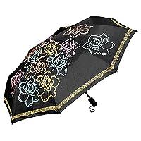 DESIGN & MOTIV: Konturen in Blütenform zieren diesen außergewöhnlichen Schirm. Der Rand ist rundherum mit einer Reihe Noten bedruckt, was jeden Musikliebhaber erfreuen wird. Im trockenen Zustand ist der Schirm schwarz-weiß. Wenn er nass wird, zeigt e...