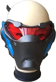 2019 Overwatch soldat 76 DEL lumineux Masque Cosplay Casque Halloween Cadeau Fête
