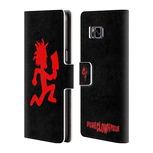 Head Case Designs Officially Licensed by Insane Clown Posse Hatchetman Key Art Leather Book Wallet Case Cover Compatible with Samsung Galaxy S8+ / S8 Plus