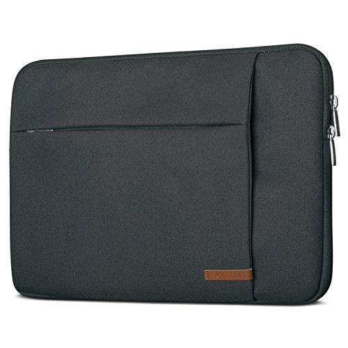 CASEZA Laptophülle 15.6 Zoll Anthrazit - Laptoptasche London Laptop Sleeve 15.6
