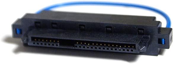 Genuine Dell UF070 Interposer Board SAS SCSI to SATA Serial ATA SFF-8482 Female to SATA 2 Hard Drive Convert Adapter