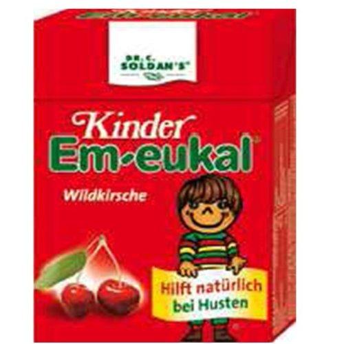 Kinder Em-eukal Wildkirsche Minis zuckerhaltig, 40 g